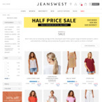 Jeanswest 50% off Sale Items
