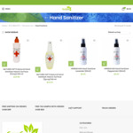 """Natural """"NATURES GIFTS"""" Hand-Sanitizers from $9.95 + $12 Shipping/Free Delivery with $99 Order @ Supergreen"""