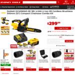 DeWalt DCM565M1-XE 18V 4.0Ah XR Compact Chainsaw Combo Kit - $299 @ Sydney Tools