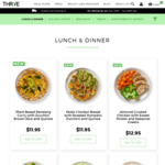 [QLD, NSW, ACT, VIC] 35% off Ready Made Meals (Min Spend $80) + Free Delivery @ Thrive