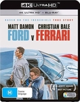 Ford Vs Ferrari 4K Blu-Ray Now $25 (Was $36) + Shipping @ Sanity & Amazon AU