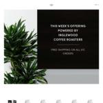 [VIC] 50% off Inglewood Coffee C&C E.g. 1KG $25 ROOSEVELT Blend @ Inglewood Coffee Roasters