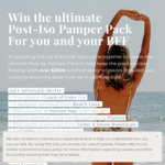 Win a Post-Iso Pamper Pack Worth Over $2,500 from Beach Luxe/DK Active/Maui Now/etc