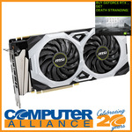 MSI RTX2070 Super Ventus 8GB $738.65 Delivered (Paying via Afterpay) @ Computer Alliance eBay