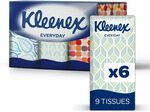 KLEENEX Facial Tissues w/h Aloe Vera & Vitamin E / Everyday Pocket Tissue Pk of 54 $1.79/$1.61 (S&S) (RRP $3.20) @ Amazon