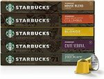 Starbucks Nespresso 10 Capsules Coffee Pods $4.83 ($4.35 S&S), Mesona Grass Jelly $1 + Delivery ($0 w/Prime/ $39 Spend) @ Amazon