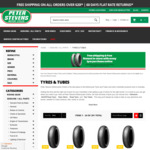 20% off All Motorcycle Tyres and Tubes (Free Shipping on Orders over $20) @ Peter Stevens