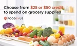 $25 for $50 to Spend on FoodByUs at Groupon (New Customers Only)