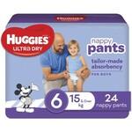 ½ Price Huggies Ultra Dry Bulk Nappy Pants $8.50 (RRP $17) @ Big W