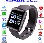 Smart Watch (Fitness Tracker, Blood Pressure Monitor, Heart Rate, Android and iOS) $20 (Was $25) @ Realstore