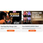 Free 1.25L Pepsi Max Mango or 700ml Barista Bros @ Woolworths via Everyday Rewards