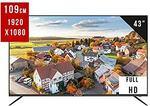 "EliteLux 43"" Full HD Smart LED TV $344 + Free Melbourne Metro Delivery @ MECOLA via Amazon Au"
