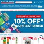 Extra 10% off Your First Order on Checkout + Free Shipping over $49 @ Pharmacy Junction