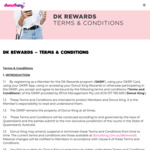 Get a Free Beverage @ Donut King When You Signup to DK Rewards (App)
