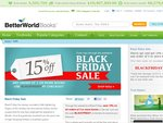 Better World Books Black Friday Sale - 15% off When You Purchase 3 or More Books | Free Shipping