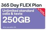 Black Friday Buy One Get One Free 365 Days 250GB $265 / 486GB $355 @ Kogan Mobile