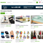Up to 20% off Shopping and Personalised Items (Margaret River Wines 12 Bottles $65 + Shipping) @ Groupon