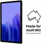 Samsung Galaxy Tab A7 Wi-Fi 32GB Grey $289 Delivered at Amazon AU ($274.55 at Officeworks via Pricebeat)