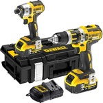 Dewalt 2-Piece Cordless Combo Kit - 18V 5.0 Ah - DCK250P2-XE - Price Reduction $275 Inc GST Delivered or Collected @ Blackwoods