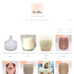 12% off Hand Poured Soy Candles + Delivery/Pickup in VIC @ Sini Glow