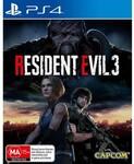 [PS4] Resident Evil III Lenticular Case Edition $9.95 C&C @ EB Games