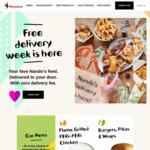 Nando's Free Delivery via Nando's App