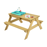 Kids Picnic Bench with Play Working Tap $49 (Was $99) + Delivery ($0 C&C/in-Store) @ Kmart