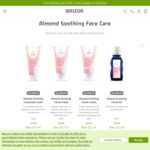 20% off Almond Soothing Facial Care (e.g. Cleansing Lotion 75ml $19.16, Facial Cream or Lotion 30ml $23.16) @ Weleda