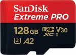 Sandisk Extreme Pro microSDXC 128GB $35.14 + Delivery ($0 with Prime/ $39 Spend) @ Amazon AU