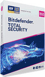 Bitdefender Total Security 2021 - 5 Devices / 3 Years - US$75.95 (~A$98.45) @ Dealarious