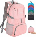 Ultra Lightweight 35L Packable Water Resistant Travel Backpack $9.79 + Delivery ($0 with Prime/ $39 Spend) @ zomakinc Amazon AU