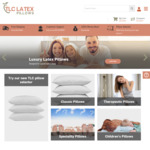 Further 15% off Site Wide (eg: Classic $68, Thera $76.50) + Free Shipping @ TLC Latex Pillows