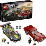 LEGO 76903 Speed Champions Chevrolet Corvette C8.r Race Car and 1968 Chevrolet Corvette $49 Delivered @ Amazon AU