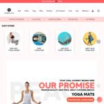 Yoga Leggings $27.95, Yoga Mats $29, Yoga Strap $9.95, Energy Stones $35 + $9.95 Delivery ($0 VIC C&C/ $50 Order) @ Nibbana