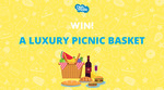 Win a Luxury Picnic Basket from Picnic Baskets Australia Worth $180 from Dishmatic