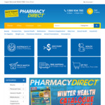 $5 off Your Next Order of Minimum $30 + Delivery ($0 with $99 Order) @ Pharmacy Direct