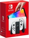 [Pre Order] Nintendo Switch Console OLED Model - White $539 Delivered @ Amazon AU