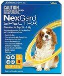 Nexgard Spectra 3.6-7.5kg Dog, 6 Pack $58.95 Shipped @ Amazon AU ([Back Order] $56.88 Shipped @ Harris Scarfe Amazon)