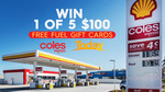 Win 1 of 5 $500 Coles Express Gift Cards from Nine Network