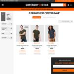 2 Superdry Orange Label Tees for $60.00 Delivered @ Superdry