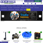 15% off Purchase with Payment by etika @ VEK Tools