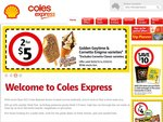 2x $30 Optus or Boost Recharges for $50 - Coles Express