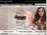 House of Fraser Free Shipping