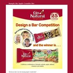 Free Go Natural Apple Crumble Bar (first 300 entrants)