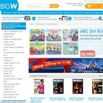 Buy 2 Get 1 Free All DVDs & Blu-Rays @ BigW. Use Code HAPPY10 & $10 off if Spend $50