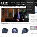 $20 Silk Ties from FocusTies.com.au ($10 off / 33% off Each Tie!)