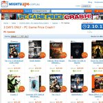 3 DAYS ONLY - PC Game Price Crash (Starts at $2+ Delivery$4.90) @Mighty Ape