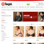 Various Von Follies Bras $4.44 or $6 Limited Sizes Available @ Target (Free Click and Collect)