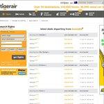 2 for 1 TigerAir Flights! - Network-Wide Sale