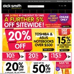 Get an Extra 5% off Site Wide @ DickSmith Using Code